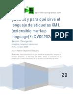 DV00202A Que es y para que sirve lenguaje xml markup language - copia.pdf