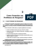 9. Como Formular Um Problema de Pesquisa