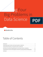 Solving Four Big Problems in Data Science