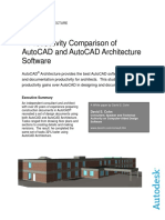 AutoCAD Architecture Productivity Study