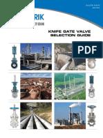 Knife Gate Valve Selection Guide 10.00 15