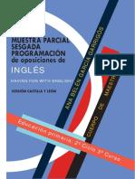 Programación Inglés Castilla y León