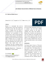 Study on Bathymetric and Sediment Characteristics of Bhimtal Lake in Kumaun Region