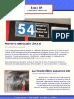 Linea 54 Presentación