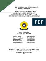 Resume Diversifikasi Dan Pengembangan Produk Perairan Gelatin