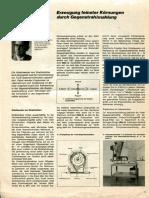 Erzeugung Feinster Koernungen Durch Gegenstrahlmahlung (Von U. Haese)