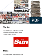 documentsnewspapers in the uk