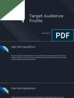 target audience profile  1