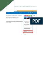 Configuracion de Pop3 y Smtp Para Cuenta de Outlook o Hotmail