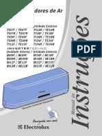 Manual Ar Electrolux