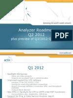 Actix-Analyzer Roadmap 2012 Q2