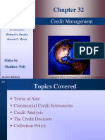 Basic Finance - Credit Management