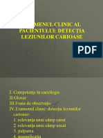 Examen Clinic, Detectie, Diagnostic