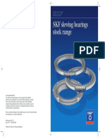 SKF Slewing Bearings Stock Range Leaflet