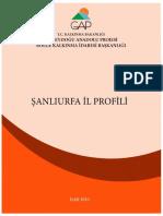 Gap Sanliurfa i̇l Veri̇leri̇ 2016