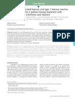 Borderline Tuberculoid Leprosy and Leprosy Type 1