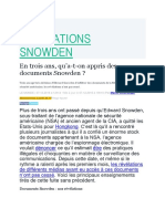 Révélations Snowden