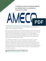 Global Stationary Emission Control Catalysts Market