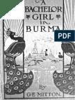 A Bachelor Girl in Burma