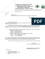 Surat Pemberitahuan Imunisasi Difteri 2018