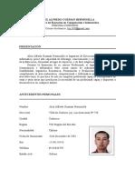 Curriculum Vitae Alex-COIHUECO