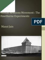 3. Hawthorne