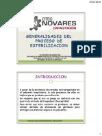 Generalidades Del Proceso de Esterilización