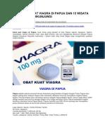 Jual Obat Kuat Viagra Di Papua Dan 15 Wisata Papua Wajib Dikunjungi