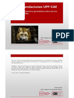 Recomendaciones para una cobertura periodística ética de los otros animales