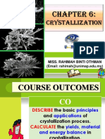 Chapter 8 Crystallization
