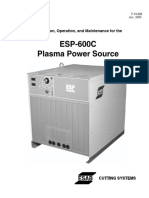 Esp-600c Plasma Power Supply F-15-656