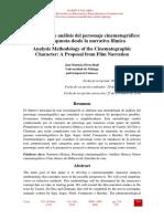 Metodologia Del Analisis de Personaje