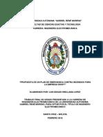 Plan de Contingencia y Guia de Seguridad Para Prevenir Incendios en Empresa Tismart