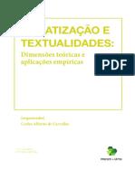 Midiatização e Textualidades - Dimensões teóricas e aplicações empíricas