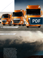 DAF Model Range Brochure FR