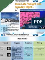 Winter Storm 03-06-18 715AM Briefing