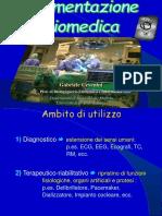 Strumentazione Biomedica 2014-15 Gabriele Cevenini