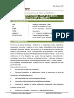 Plan Operativo Área Cta 2013