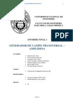 Informe Final 2 Maquinas III