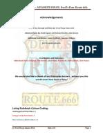 Devils Run Advanced Rules Beta2.0