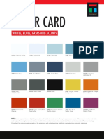 CCARD Color Card
