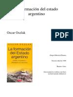 la formacion del estado argentino.pdf