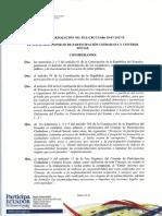 Resolución Plenaria CPCCS