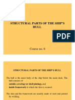 C6 Structural Parts of the Hull