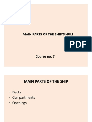 C7 Ships Main Parts Decks | Deck (Ship) | Stern