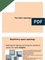 C9 Ships Openings