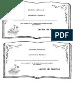 Diploma Lector de Cuentos