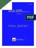 2014 APIS Final Report