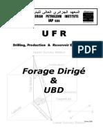 Forage Dirigé & UBD