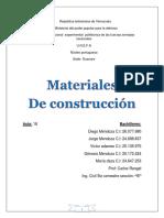 Unidad 8 Materiales de Construcion